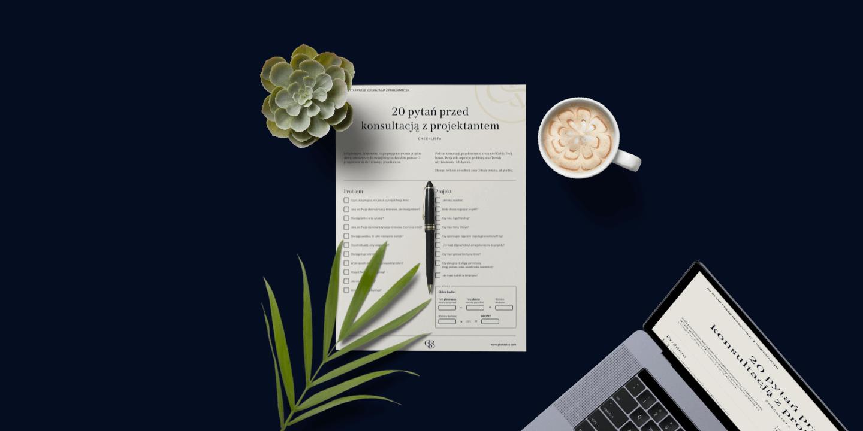 Darmowa checklista do pobrania - 20 pytań przed konsultacją z projektantem
