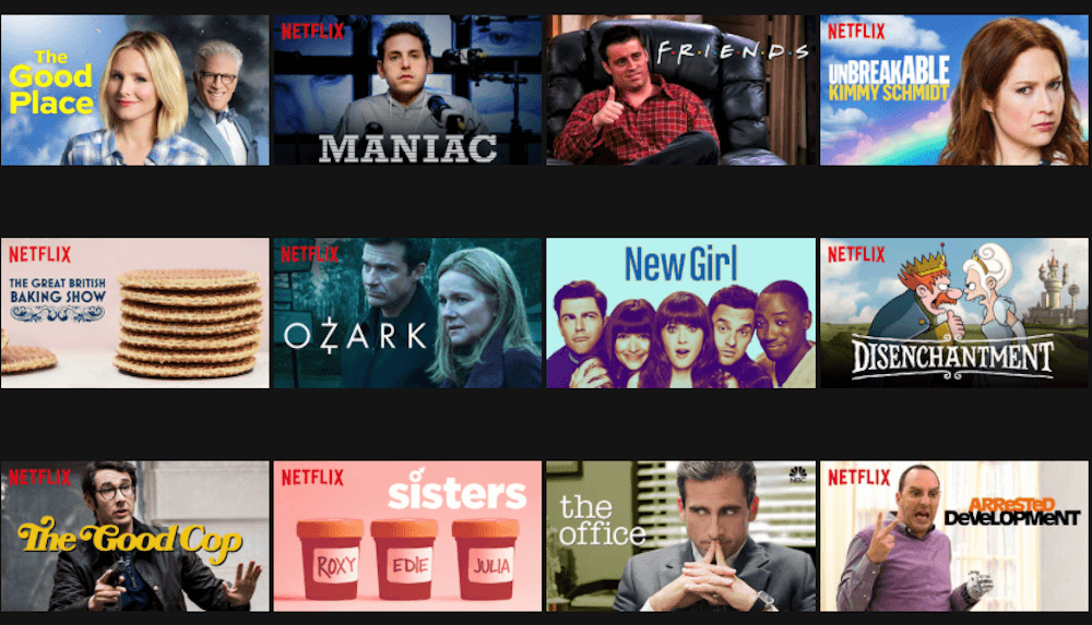 Netflix miniaturki