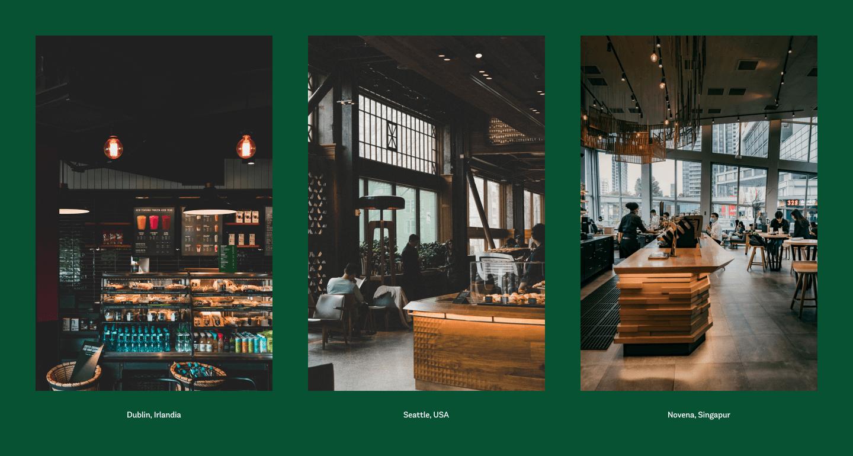 Lokale Starbucks na świecie wyglądają właściwie tak samo