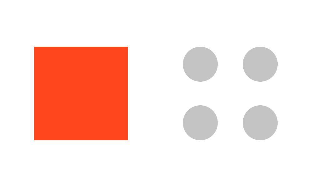 Balans zachodzi wówczas, gdy elementy designu są dla siebie przeciwwagą