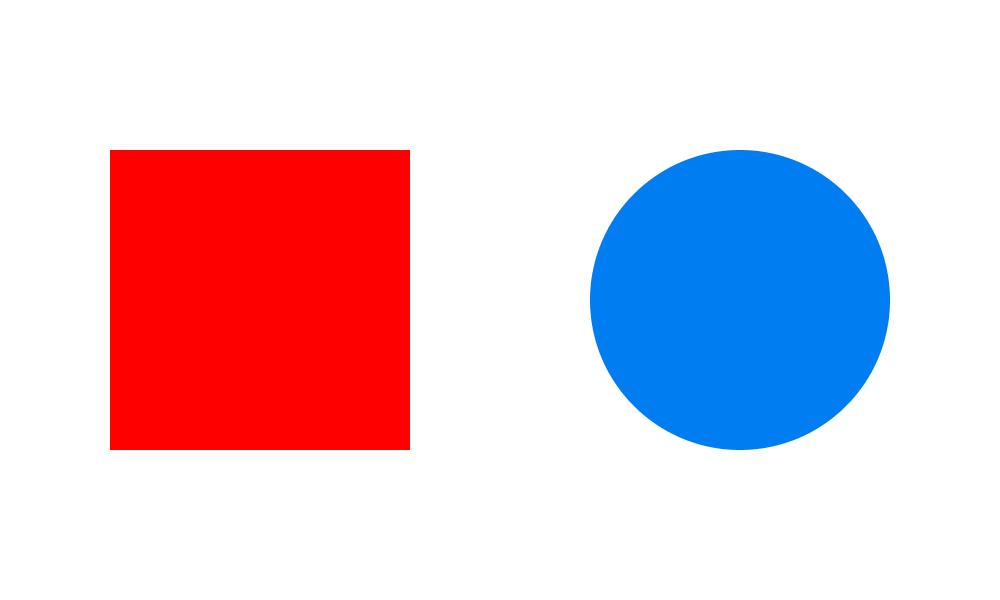 Kontrast może być zarówno kolorystyczny, jak i ze względu na kształt