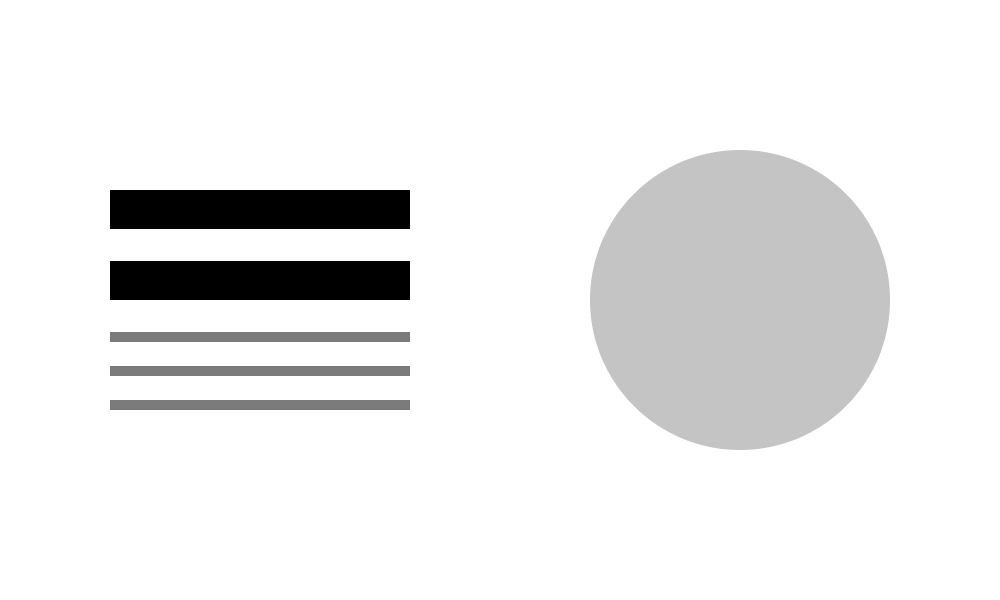 Hierarchia określa kolejność ważności elementów designu