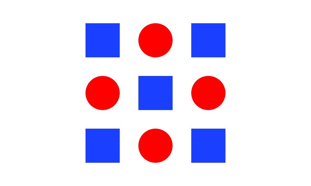Powtórzenie koloru i kształtu