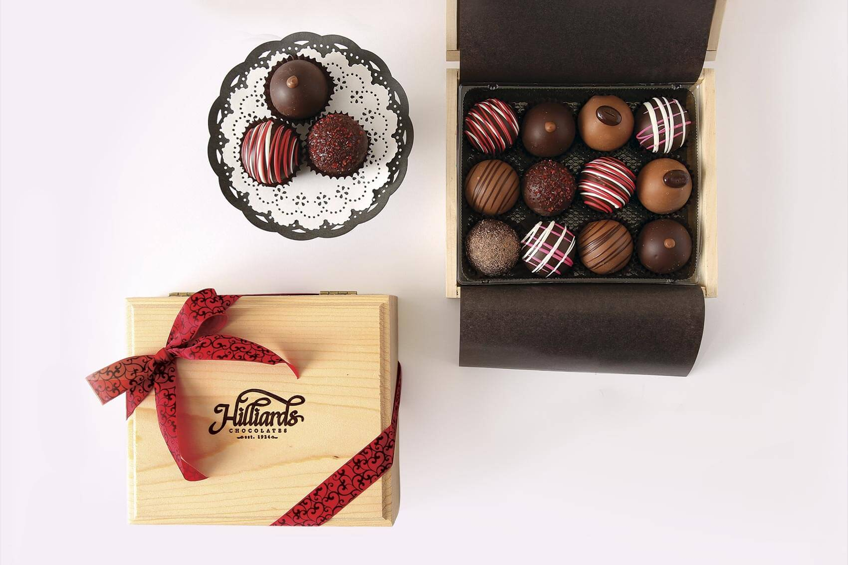 Hilliards Chocolates history is as sweet as their candy.