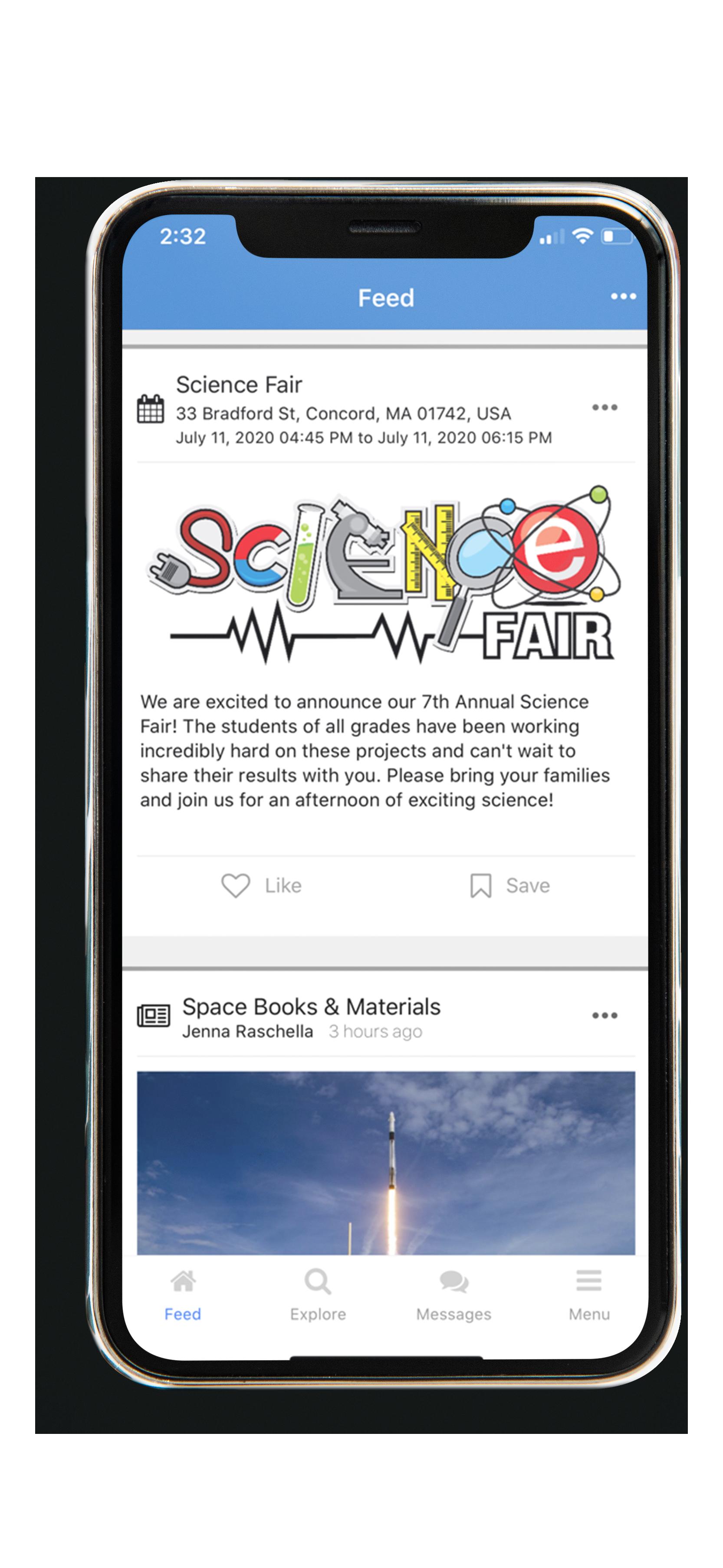 SchoolCNXT App News