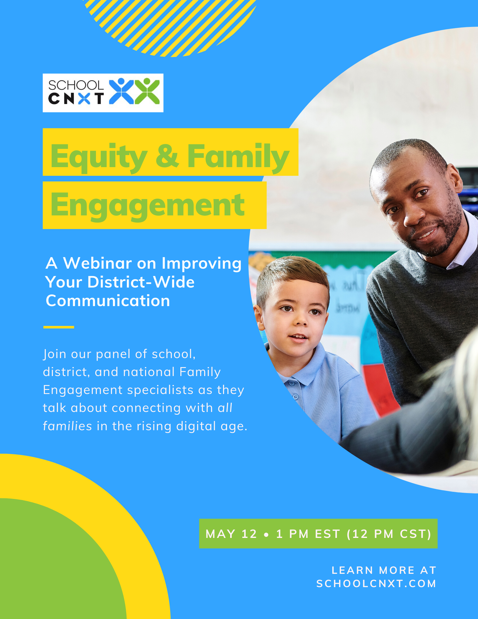 a webinar on improving your district-wide communication, join our panel of school, district and national family engagement specialists as they talk about connecting with all families in the rising digital age