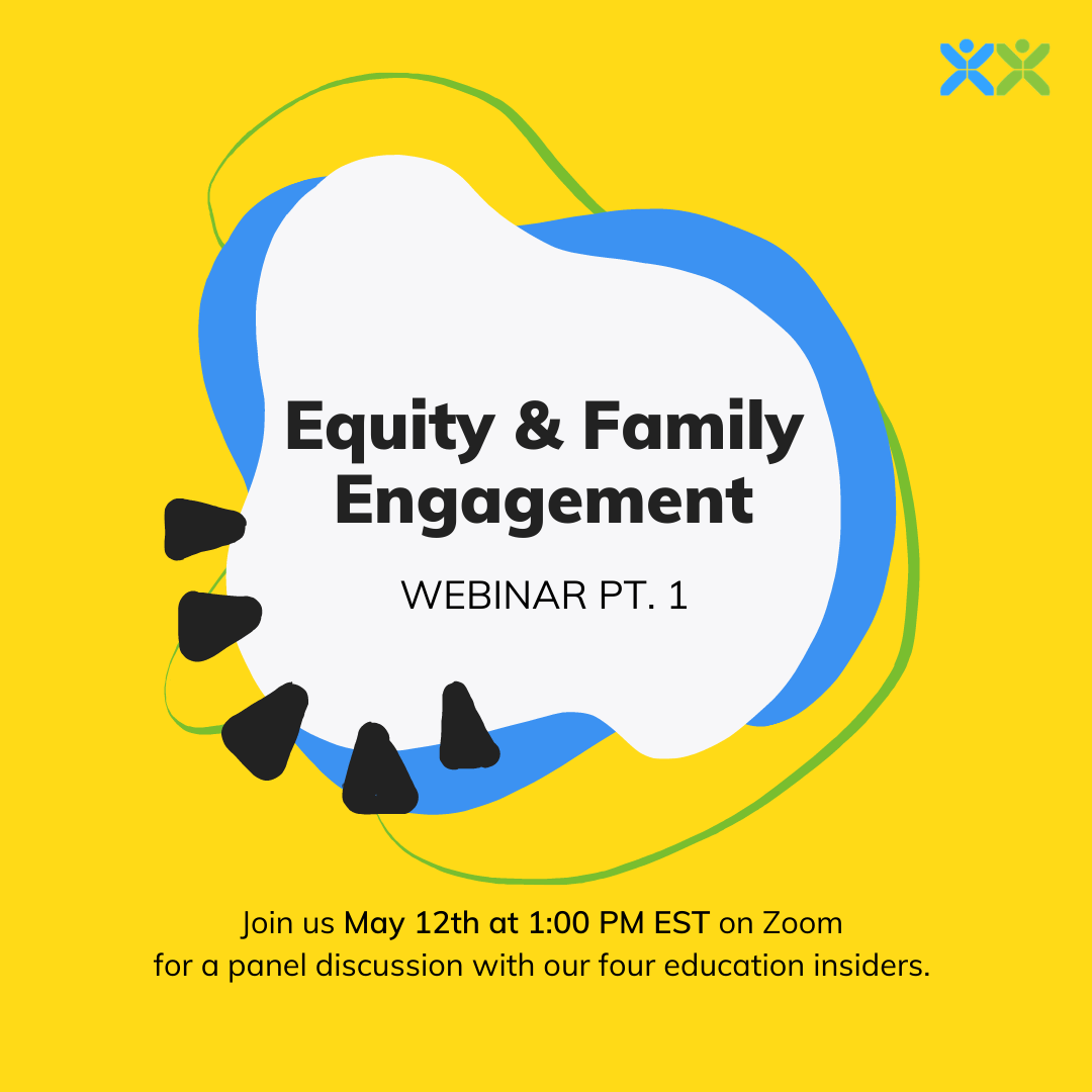 Equity & Family Engagement Webinar Cover Image