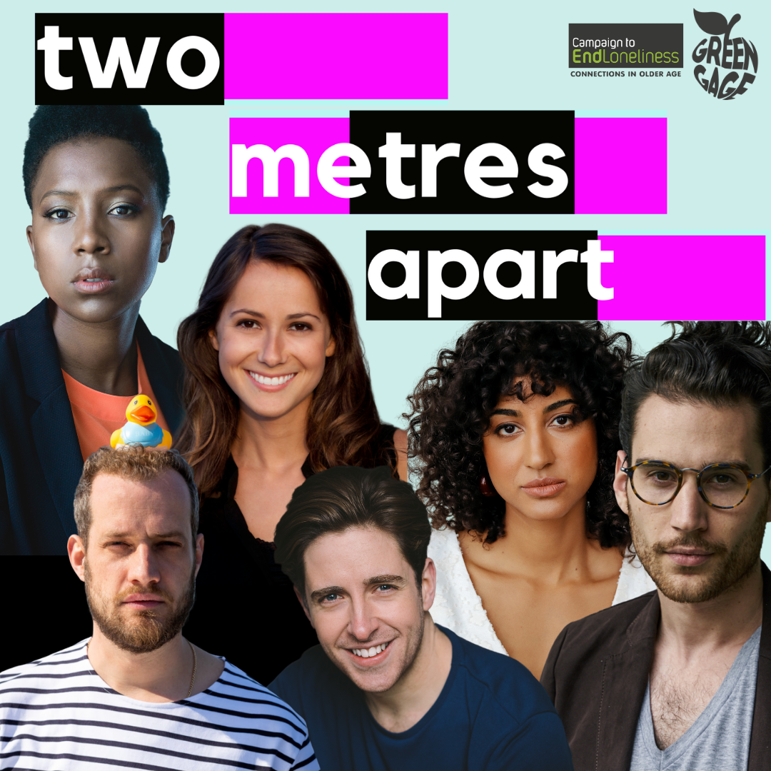 An interactive and informal 60-minute programme of new writing, spoken word and music. Designed to bring people together virtually. Rated 5* by A Younger Theatre.