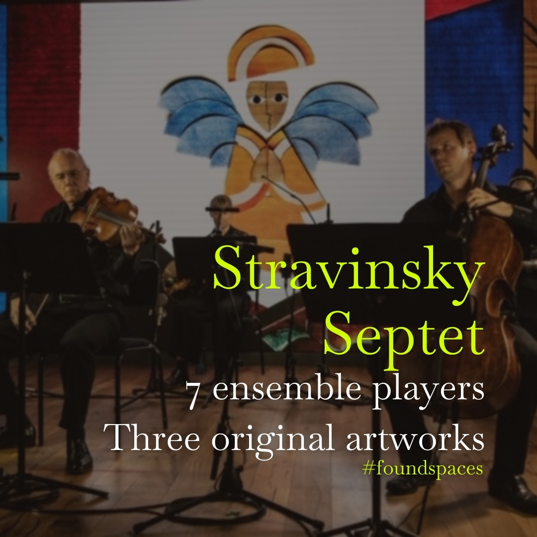 Igor Stravinsky's Septet takes us on a journey into the composer's evolving style while three original artworks build, layer by layer and in high definition.