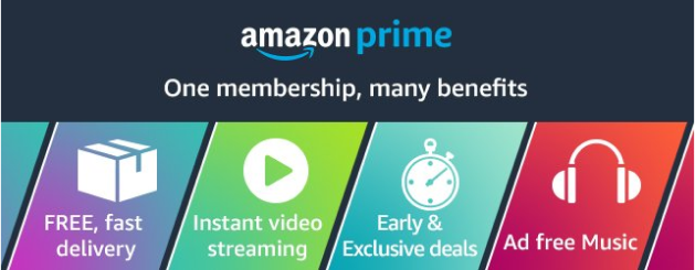 Prime shipping benefits