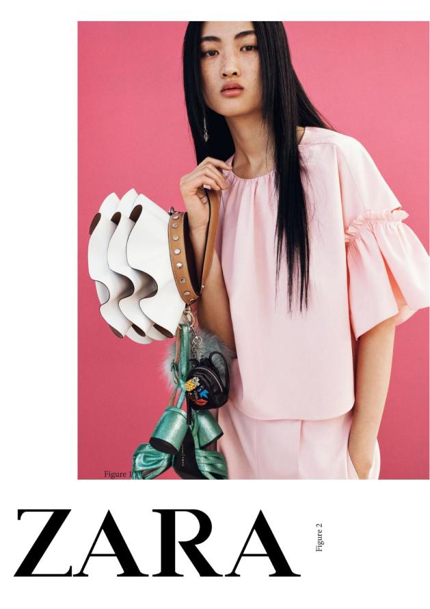 Zara brand poster