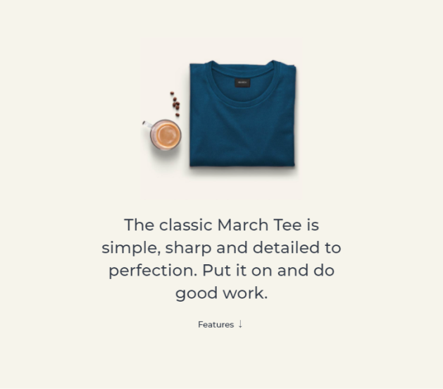 March Tee Specialised products