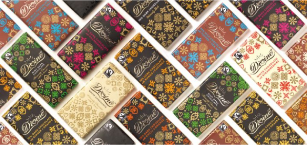 Divine chocolate brand image