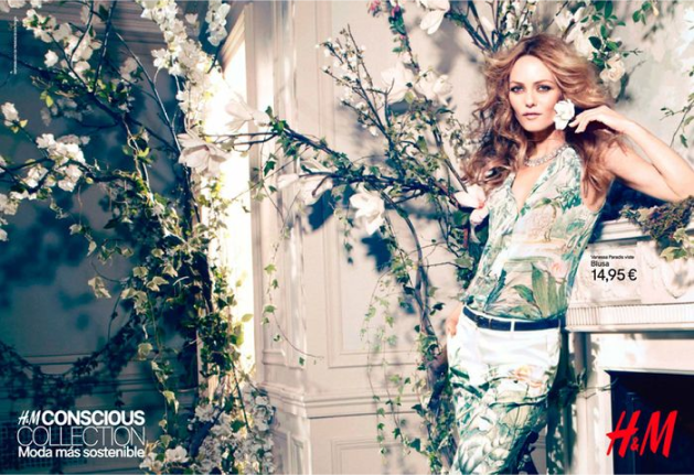 H&M Sustainability campaign