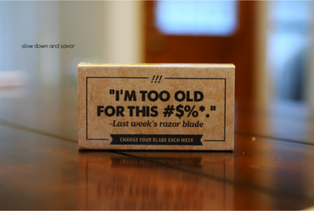 Dollar shave club unboxing