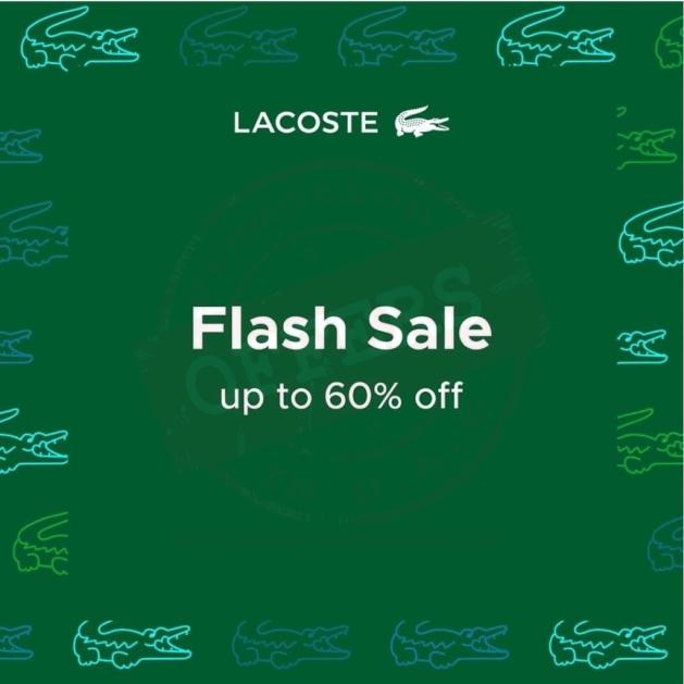 Lacoste Flash sale