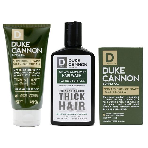 Duke cannon product kitting