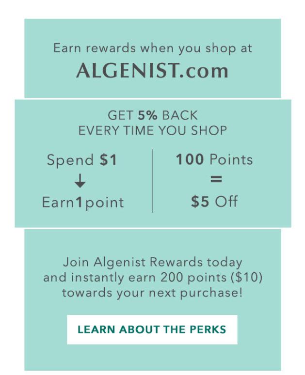 Algenist customer retention