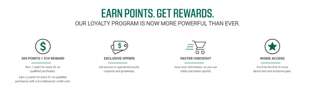 DICK'S Sporting Goods boasts an exciting loyalty program