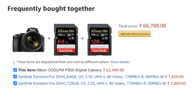 Frequently bought together Amazon