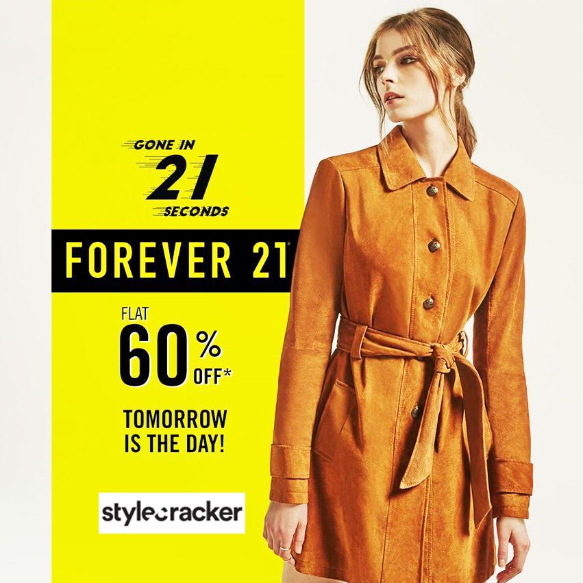 Forever 21 hosting a flash sale