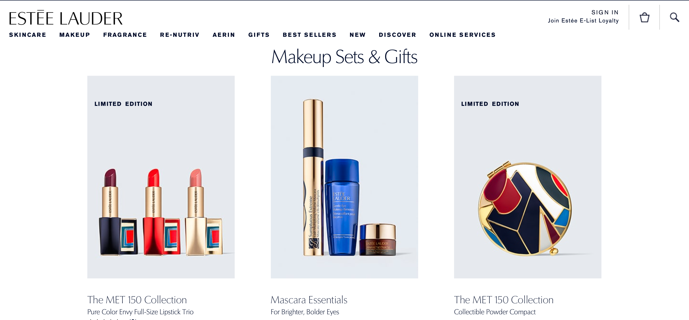 Estee Lauder bundles its products to entice customers