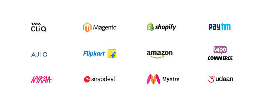 Eshopbox's integrations with multiple sales channels