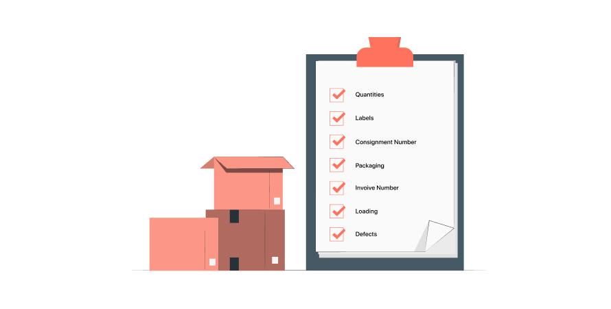 Eshopbox's quality inspection criteria