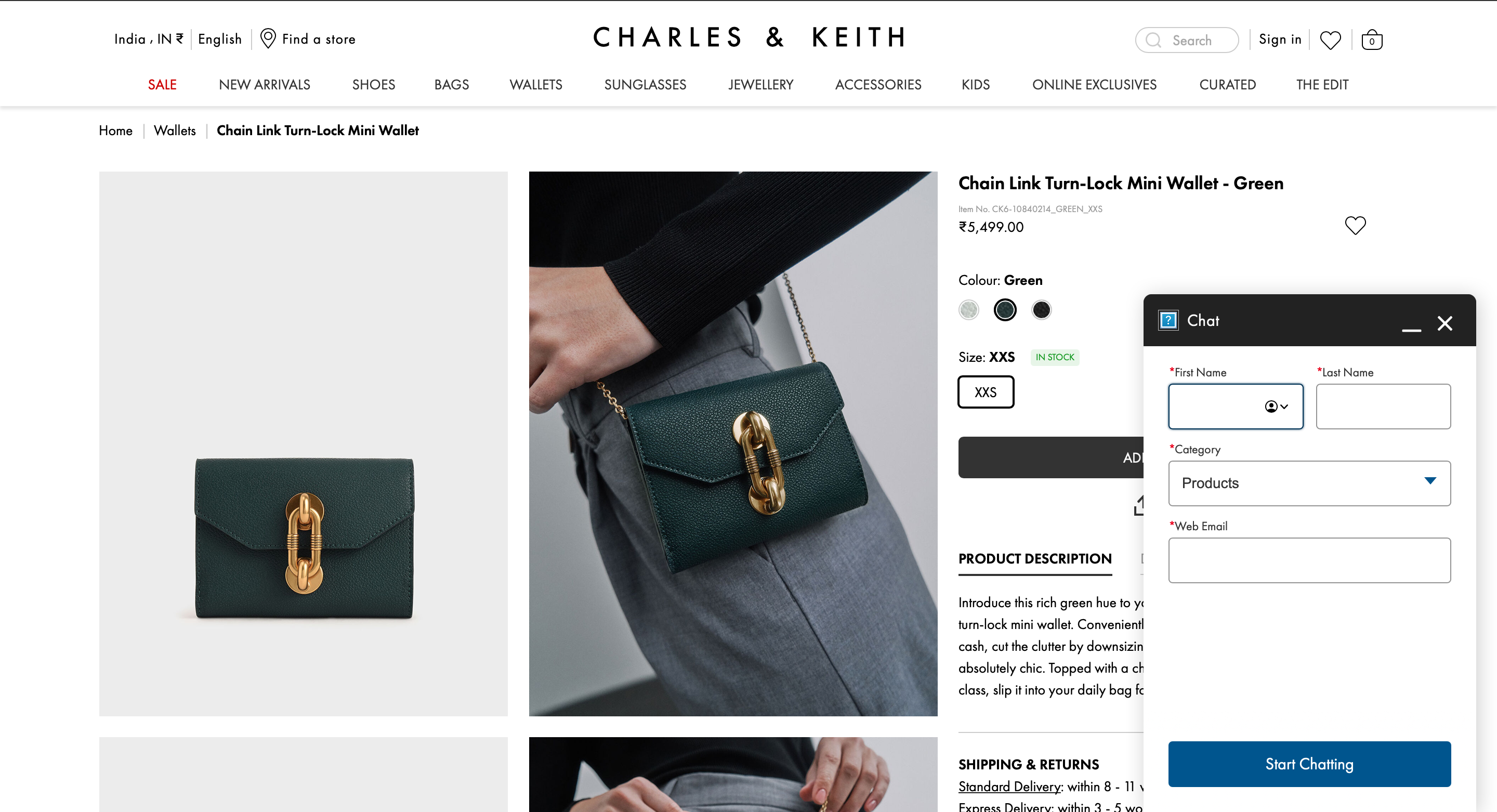 Charles & Keith has chatbots to assist shoppers