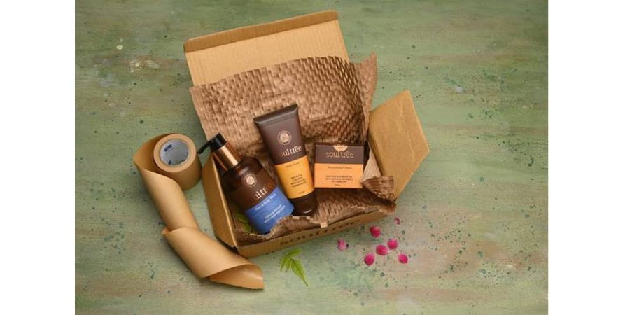 100% recyclable packaging by Soul Tree
