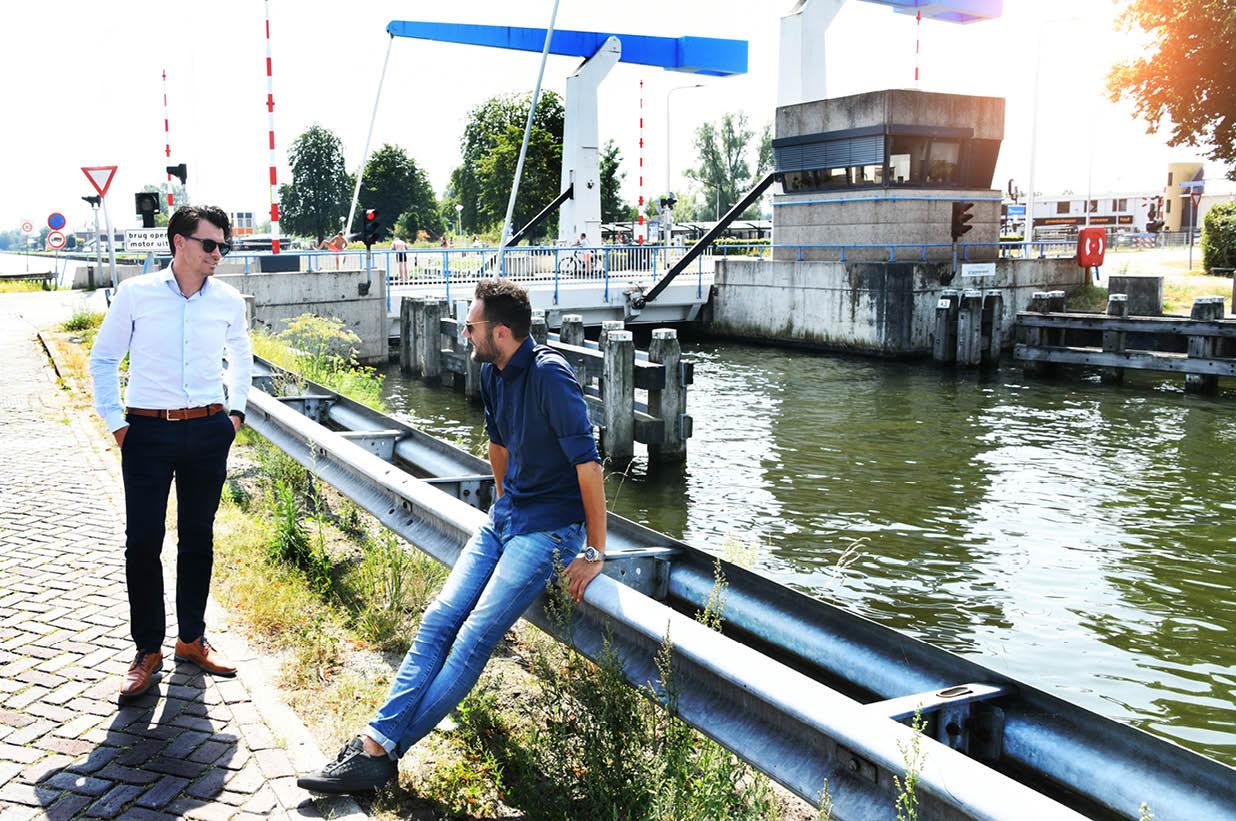 Christian Koning & Frank Smelt van Rabobank Noord en West Twente