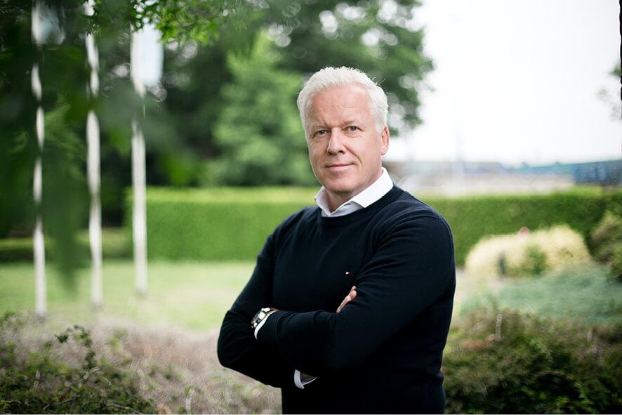 Ben Meulenbeld, voorzitter van Bedrijven Belangen Vriezenveen