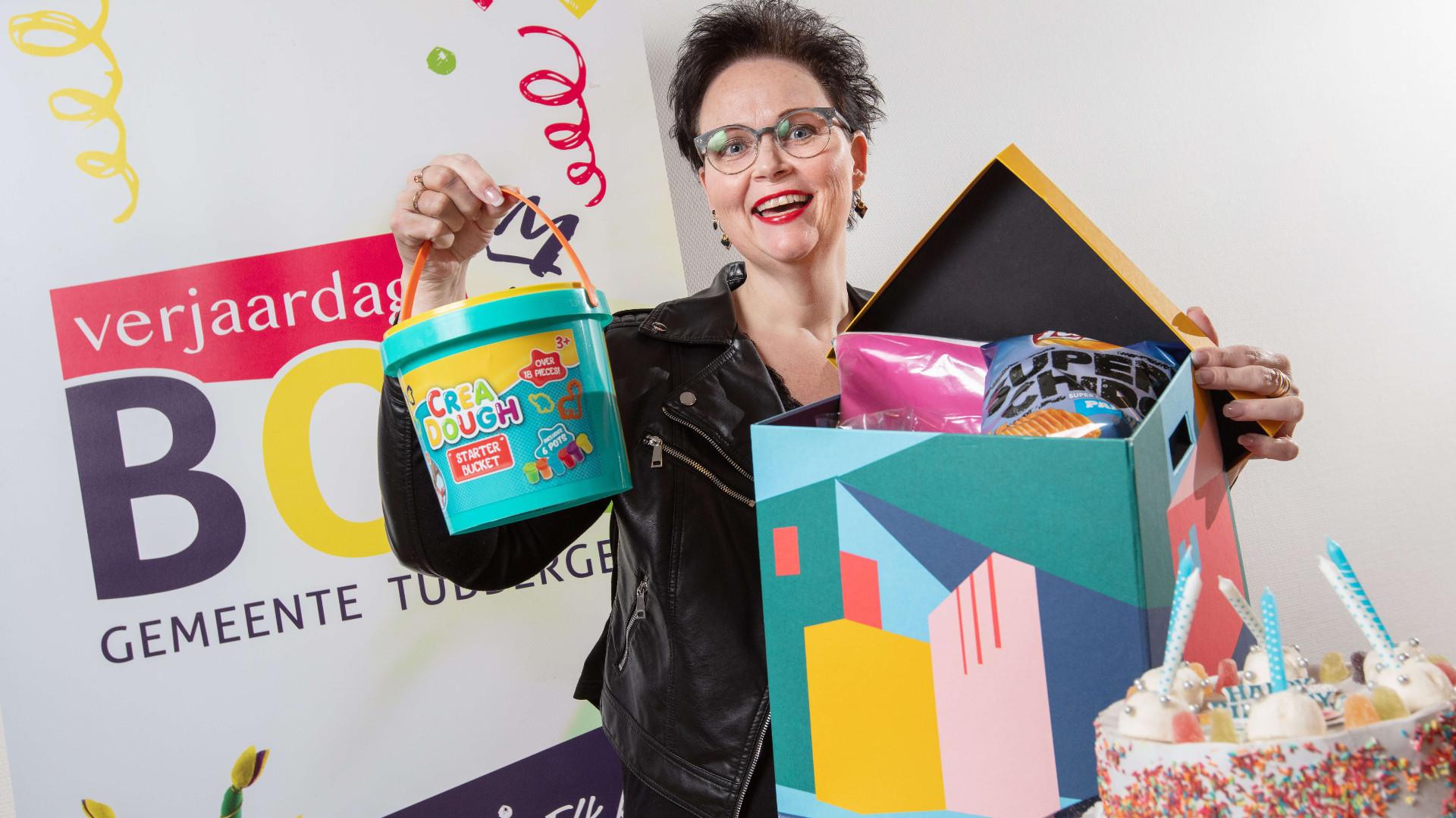 """Miranda Kranenberg, coördinator Verjaardagbox Gemeente Tubbergen: """"We zijn nu op het punt gekomen dat we de volgende stap willen zetten."""""""