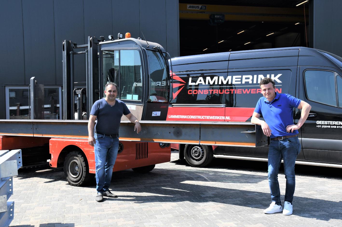 Michael Raghoebarsing en Martijn Lammerink
