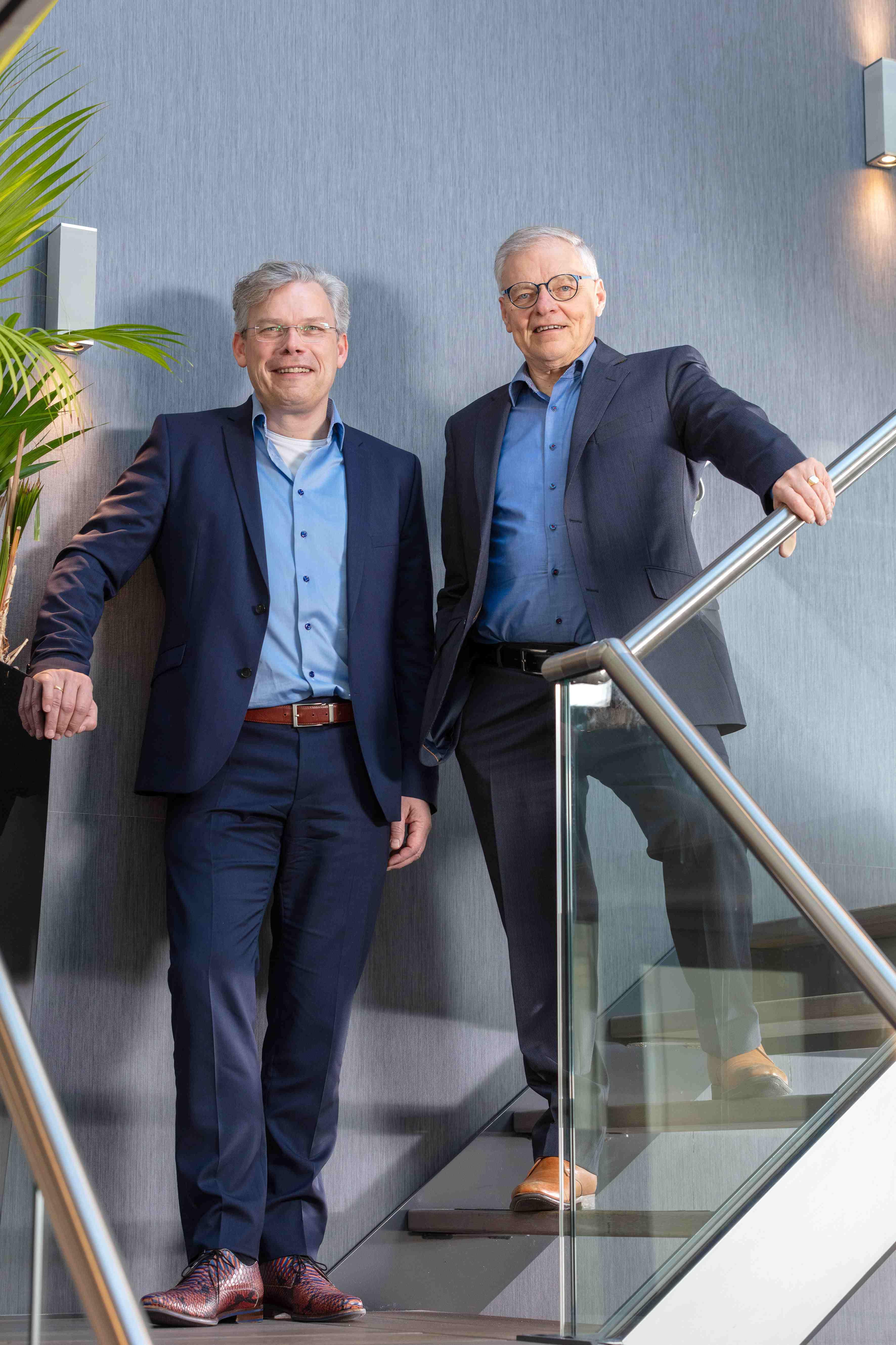Hendriksen Accountants en Adviseurs: Gerbert-Jan Hendriksen en vader Gerrit