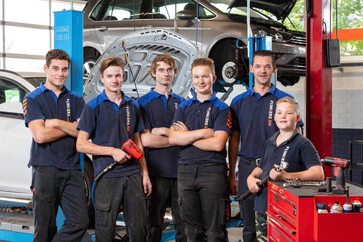 Het team van Flinkers auto's EGR reiniging