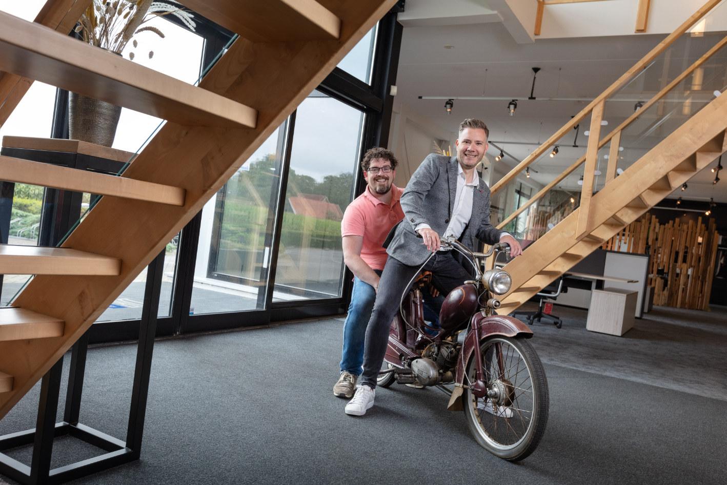 Remi Groothuis van De Delmar (links) en Remon Workel van Noaberkracht.