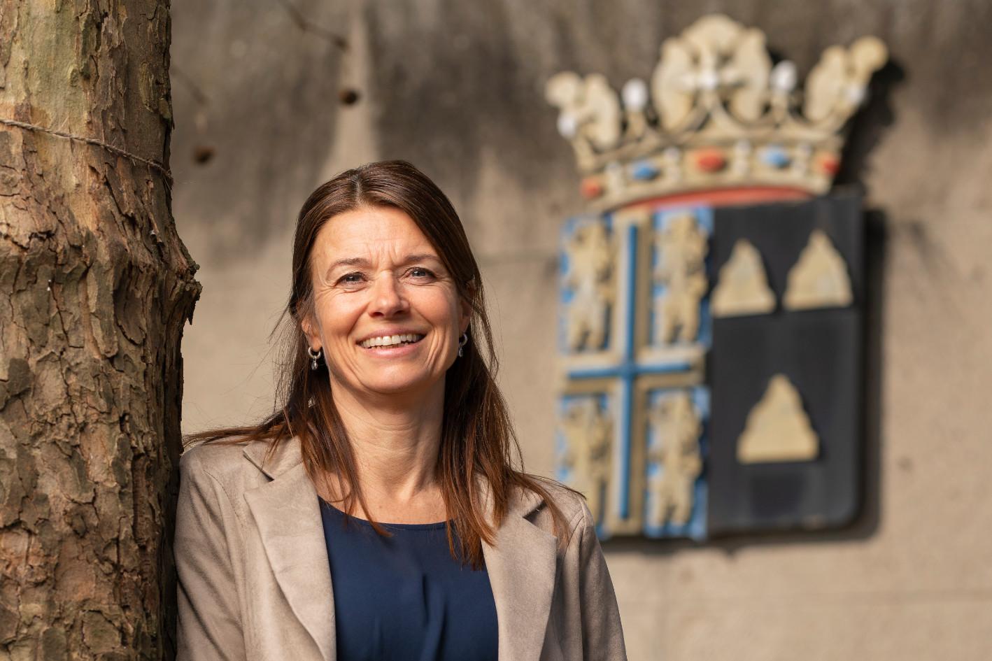 Bianca Menderink, bedrijfsconsulent voor de gemeente Tubbergen.