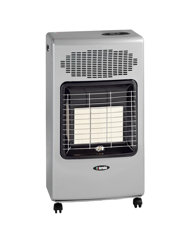Pullover Turbo Plus è la Termoventilata Infrarossa di Bartolini, dalla linea semplice ed elegante, alla tradizionale potenza del gas si aggiunge una doppia resistenza elettrica da 2000 Watt, con una ventilazione tangenziale potente e silenziosa. Il bruciatore infrarosso Bartolini offre un riscaldamento semplice e veloce, grazie al gruppo radiante a piastre ceramiche modulabile che permette di erogare fino a 4200 Watt.  Il modello Turbo Plus garantisce la scelta tra tre livelli di potenza gas e ventilazione, termoventilazione 1000 Watt, termoventilazione 2000 Watt. Le quattro ruote piroettanti rinforzate ruotano a 360° assicurando un pratico spostamento in qualsiasi direzione e su qualsiasi tipo di pavimento. Alimentata con miscela GPL in bombole fino a 15kg.