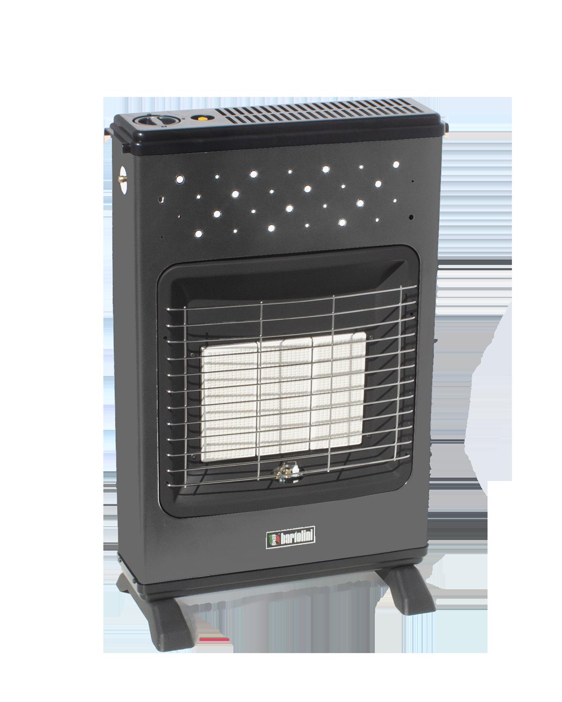 Laura Turbo Metano è la nuova stufa compatta ed essenziale, ideata per fissarla al muro o a terra mediante gli appositi piedini. Alimentata a metano, è strutturata per avere anche una ventilazione tangenziale, potente e silenziosa. È pensata per chi vuole una stufa pratica e funzionale.