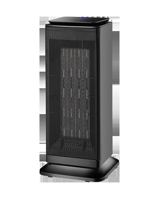 Torre Termo è il termoventilatore caratterizzato da una potente resistenza con elementi ceramici ad alta efficienza. Con pannelo touch-screen comodo per selezionare le varie funzioni, Torre è dotato di oscillazione, termostato ambientale e protezione dal surriscaldamento e ribaltamento.