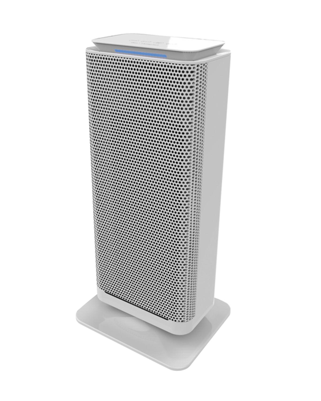 Torre Termo è il termoventilatore caratterizzato da una potente resistenza con elementi ceramici ad alta efficienza. Con pannello touch-screen comodo per selezionare le varie funzioni, Torre è dotato di oscillazione, termostato ambientale e protezione dal surriscaldamento e ribaltamento.