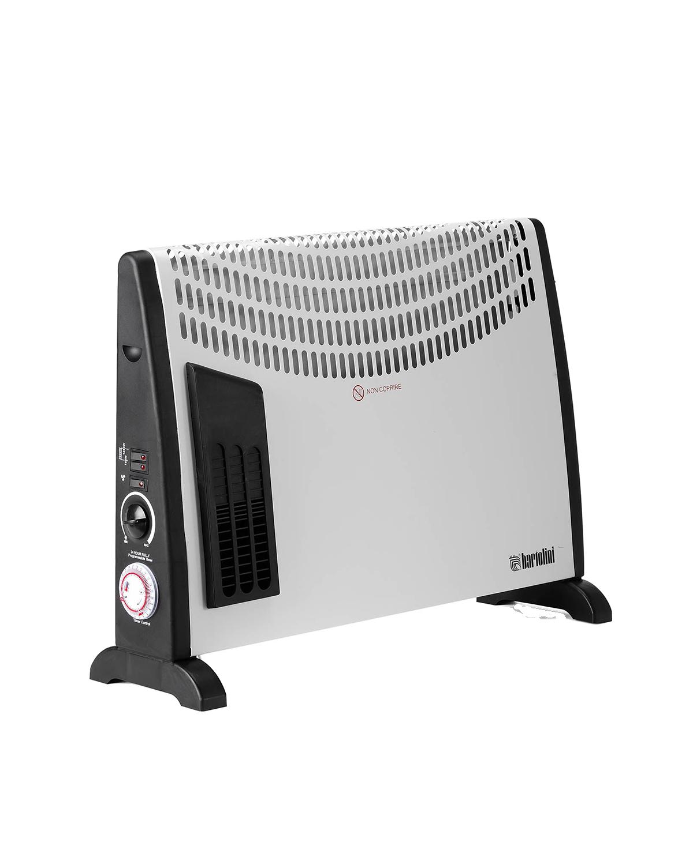 Il convettore può essere utilizzato sia libero a terra, che installato facilmente a parete grazie agli appositi tasselli in dotazione. Dotato di termostato ambientale automatico e di una protezione dal surriscaldamento anche in fase di spegnimento.