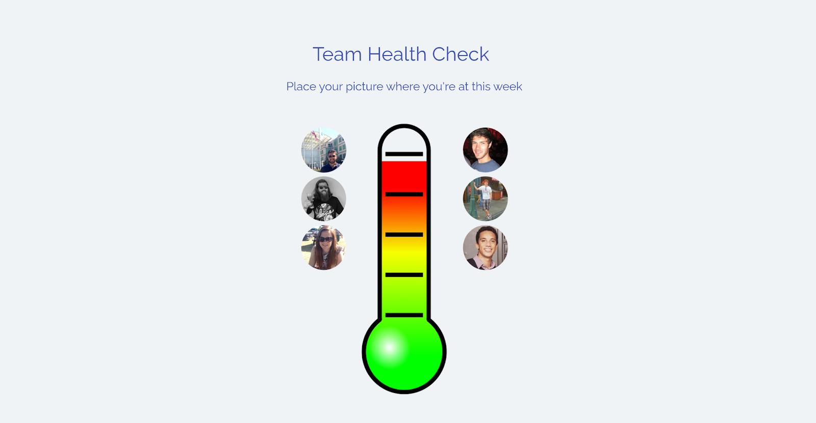 Team thermometer start