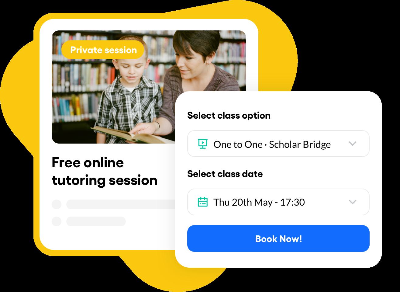 Online tutoring images