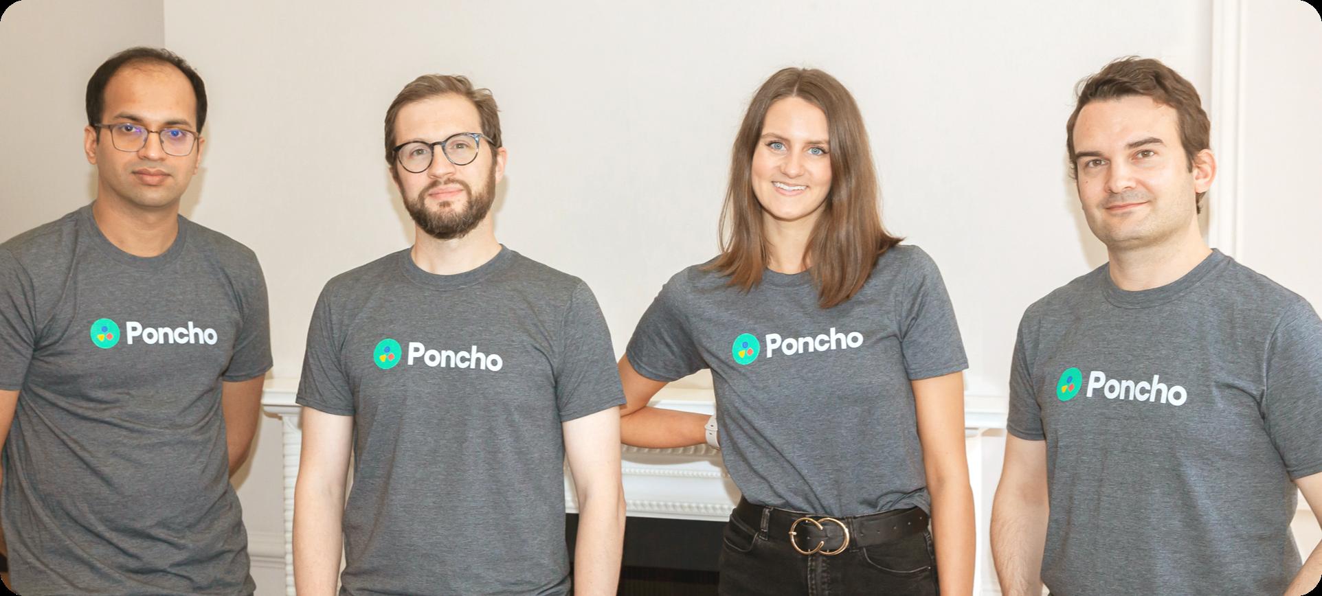 Poncho team photo