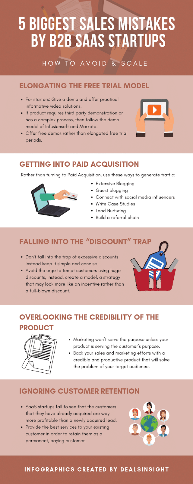 5 Biggest Sales Mistakes by B2B SaaS Startups - How to Avoid & Scale?