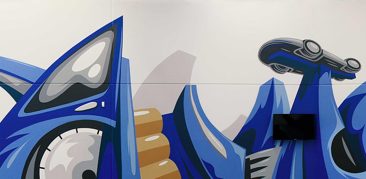 Graffiti Art für Volkswagen