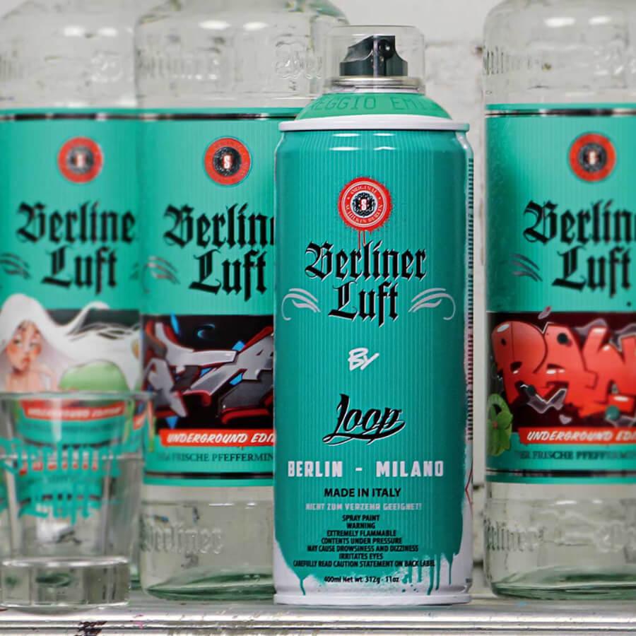 Berliner Luft Dose Kooperation mit Loop