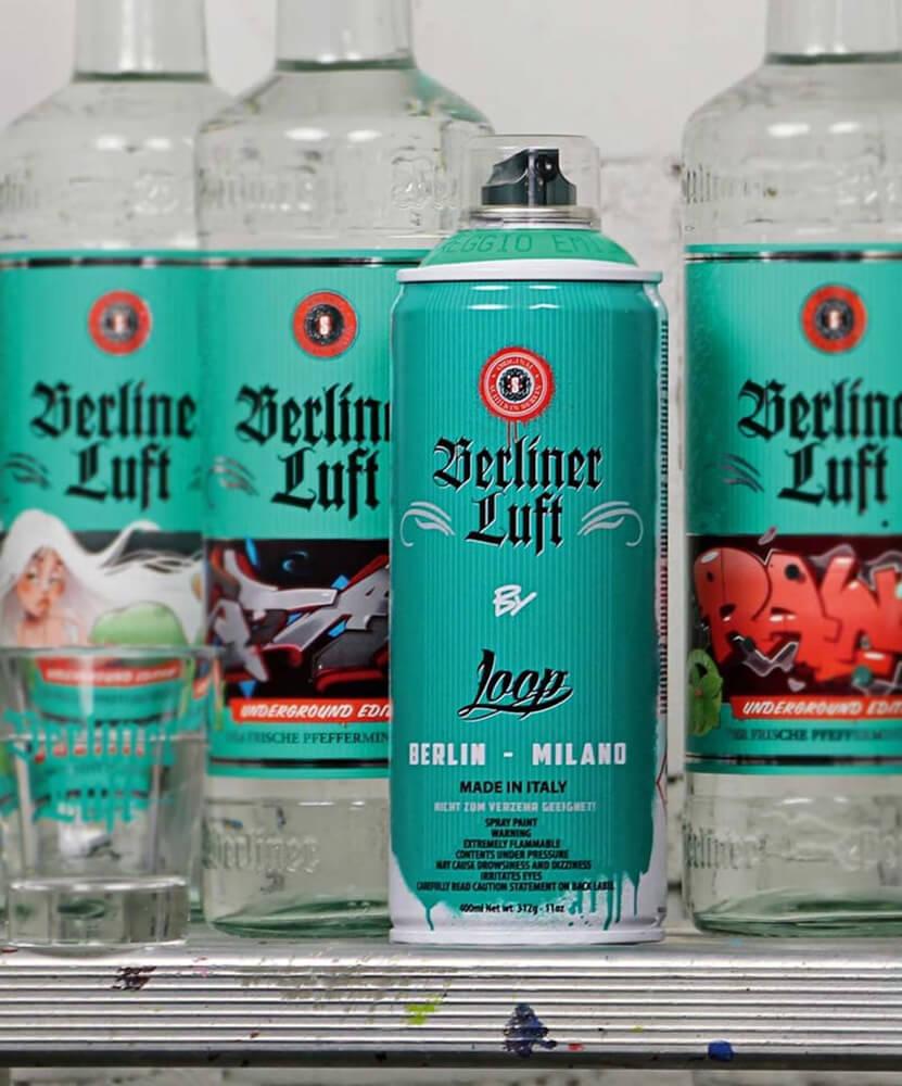 Berliner Luft Kooperation mit Loop: Berliner Luft Dose